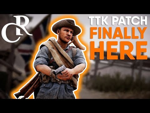 BIG TTK WEAPON Patch RELEASED to CTE - Is it GOOD?! - Battlefield 1 Turning Tides DLC