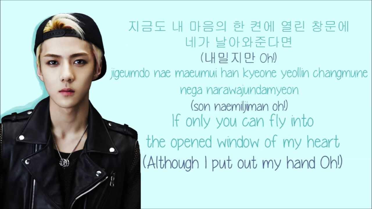 Kpop Quotes Wallpaper Exo K Peter Pan 피터팬 Color Coded Hangul Rom Eng Lyrics