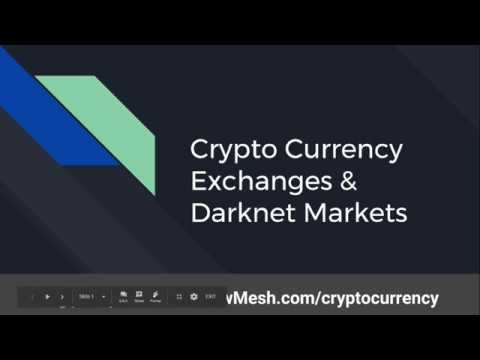 Pwrcycle's ShellCon 2017 CryptoCurrency Exchanges Darknets Presentation