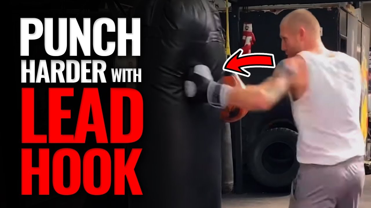 How to Punch Harder with the Lead Hook in Boxing - YouTube