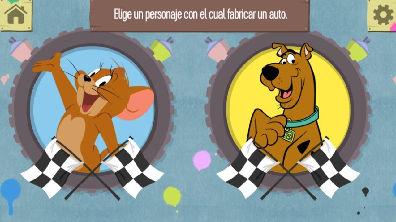 Scooby doo tom y jerry carrera de coches juegos para ni os - Race de scooby doo ...