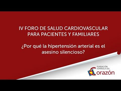 Foro CV 2016: ¿Por qué la hipertensión arterial es el asesino silencioso?