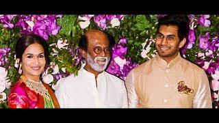 Rajini and Soundarya Attended Akash Ambani-Shloka Wedding | Wedding Video