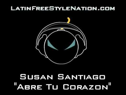 Susan Santiago - Abre Tu Corazon (Latin Freestyle Music)