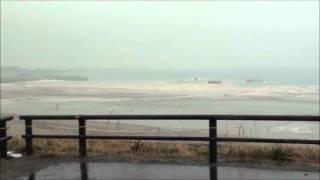 【サーフスポット】仙台新港へ到来した大津波