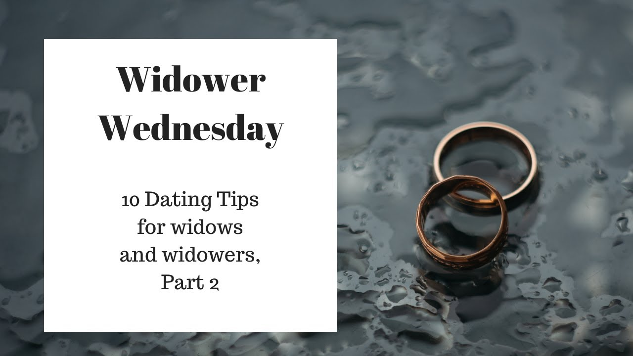 When should a widower dating again