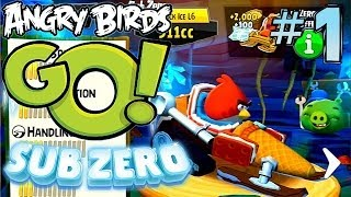Let's Play Angry Birds Go! Sub Zero #1 - First 15 Minutes, New In-App Purchases