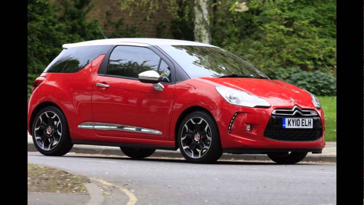2016 citroen ds3 sport red youtube. Black Bedroom Furniture Sets. Home Design Ideas