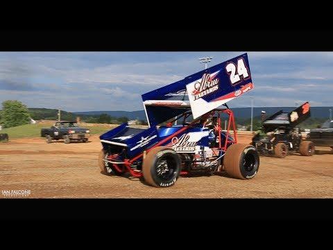 Rico Abreu and Paul Silva - Port Royal Speedway - 07.08.17