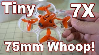LDARC Tiny 7X 75mm Whoop Review 😀🏁
