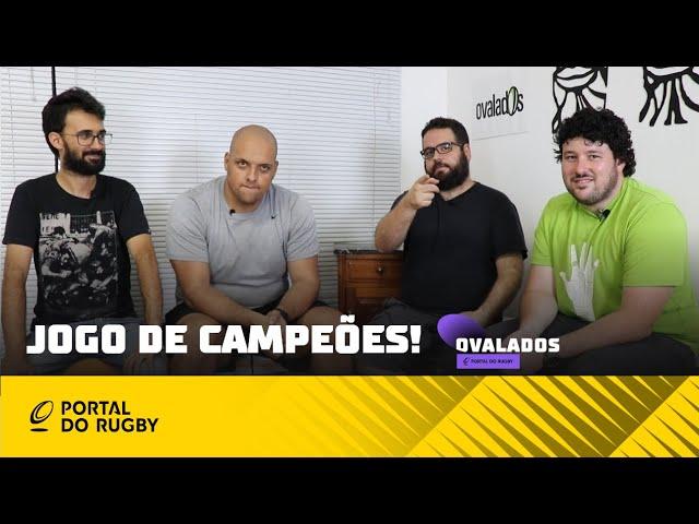 #Ovalados: Jogo de campeões! Brasil e Argentina