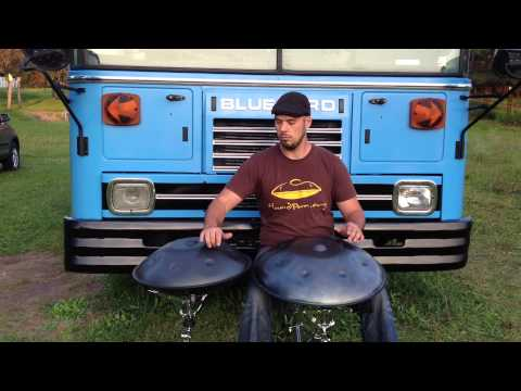 60 second handpan challenge - Jeremy Arndt