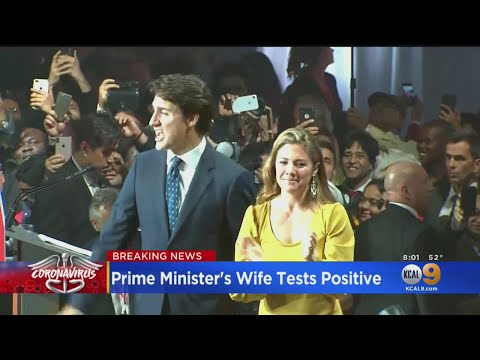 Canadian Prime Minister Justin Trudeau's Wife Tests Positive