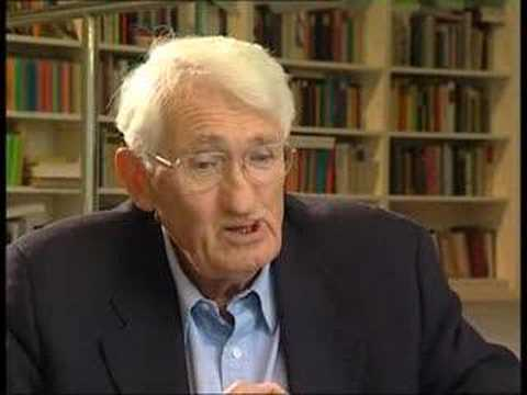 "Thumbnail for the embedded element ""Jürgen Habermas Interview"""