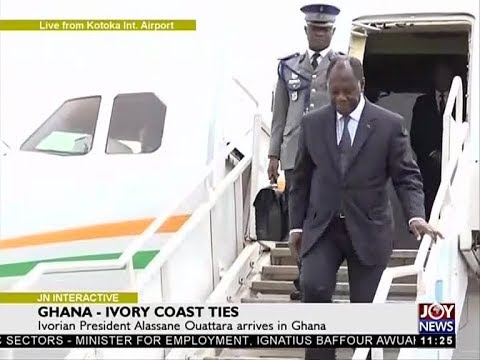 Ghana - Ivory Coast Ties - Joy News Interactive (16-10-17)