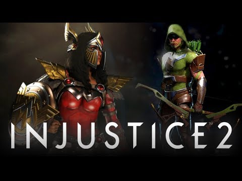 Injustice 2: New 'Epic' Gear Revealed & Green Arrow Hood Update! (Injustice 2: Legendary Edition)