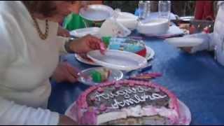 Как итальянцы празднуют дни рождения. Italian birthday.