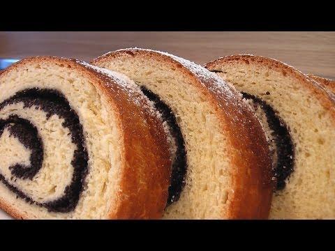 видео рецепты рулета с маком