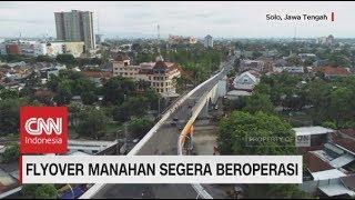Flyover Cantik Manahan Solo Segera Beroperasi