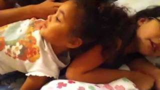 "Little girl says ""i wanna get on you"""