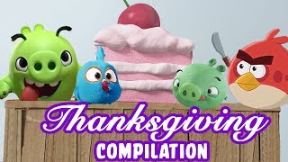 Angry Birds | Thanksgiving Special Over-Stuffed Compilation