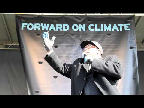 Rev. Yearwood at Forward on Climate rally - Washington D.C. February 17, 2013