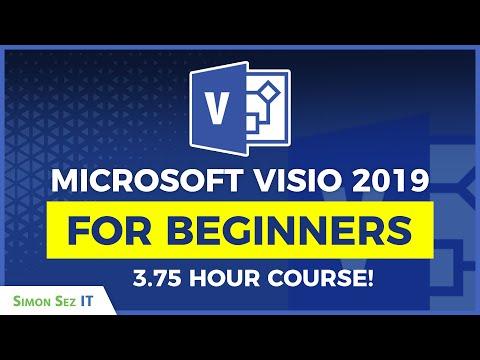 Microsoft Visio 2019 Tutorial: Visio Crash Course!