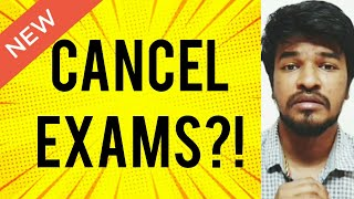 Should we Cancel Exams? | Tamil | Madan Gowri