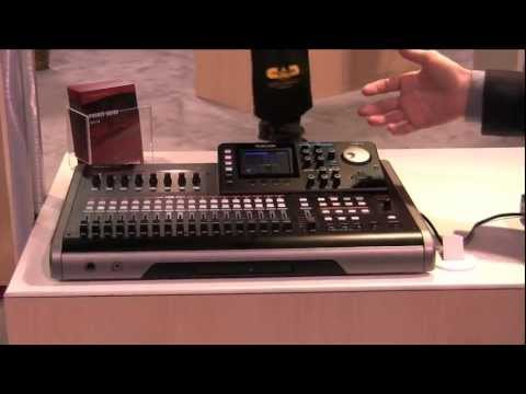 Sweetwater at Winter NAMM 2012 - Tascam DP-24 Multitrack Recorder Overview