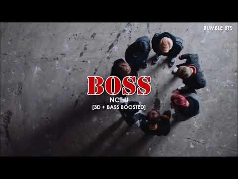 [3D+BASS BOOSTED] NCT U (엔시티유) - BOSS | Bumble.bts
