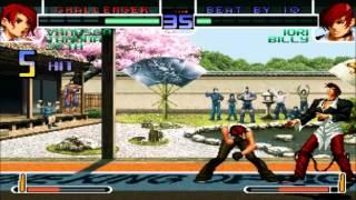 GGPO - The King Of Fighters 2002 - [K.C]Large(KOR) Vs Kim79979(TAI)