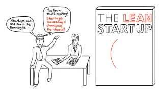 Storyboard of The Lean Startup Introduction