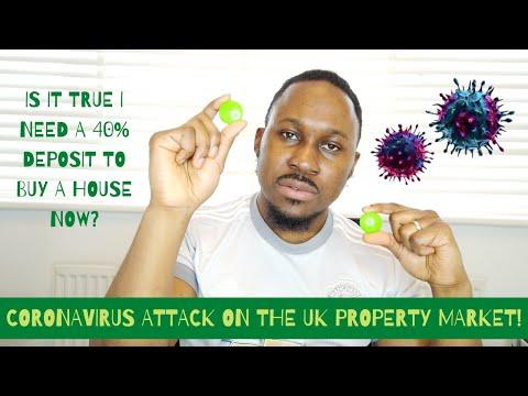 DO I NEED A 40% DEPOSIT TO BUY A HOUSE NOW???    CORONAVIRUS ATTACK ON UK PROPERTY MARKET