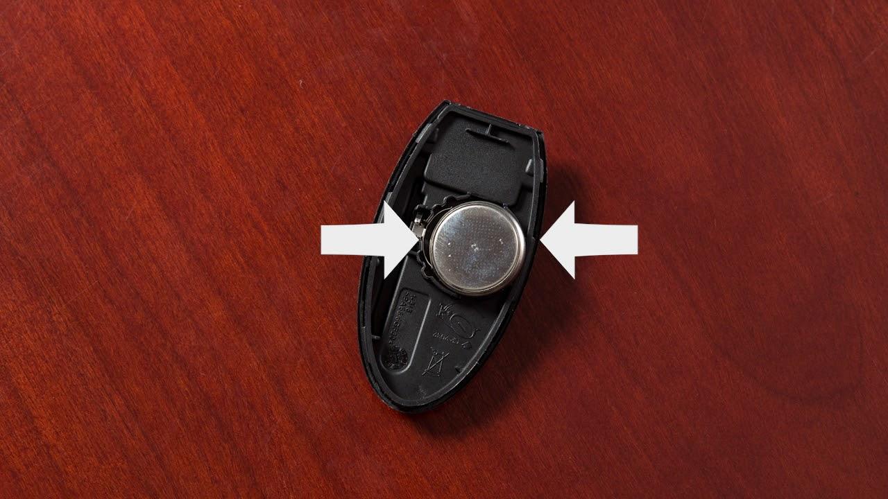 2018 Nissan Pathfinder Intelligent Key Remote Battery Replacement