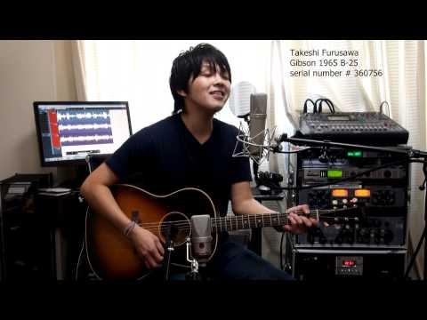 I Will The Beatles Gibson 1965 B-25 古澤剛 Takeshi Furusawa