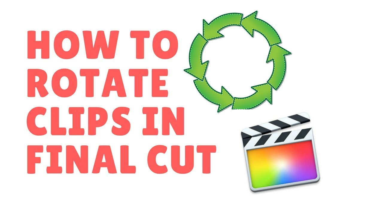 How to rotate and flip clips in final cut pro x youtube ilearhow finalcutpro rotate ccuart Gallery