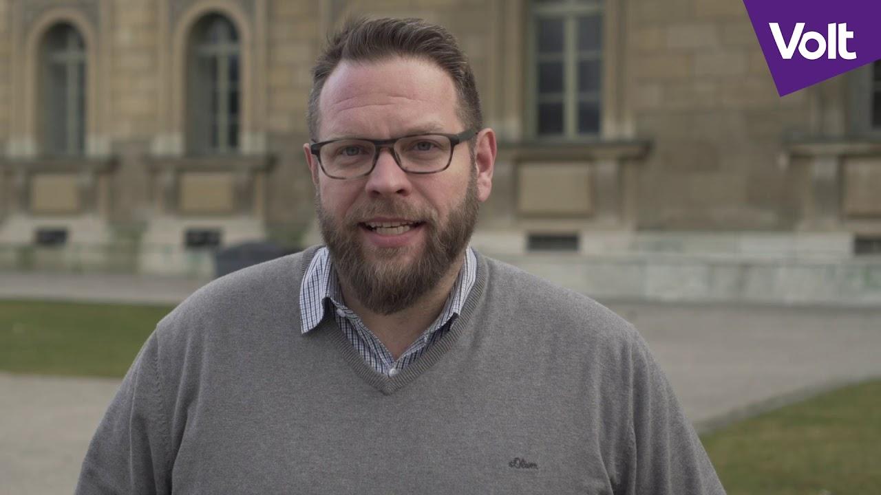 YouTube: München wähle eine neue Politik – wähle Sven Heinrici in den Stadtrat | #VoteVolt