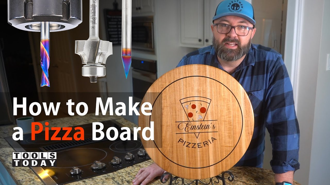 How to Make a CNC Pizza Board | ToolsToday