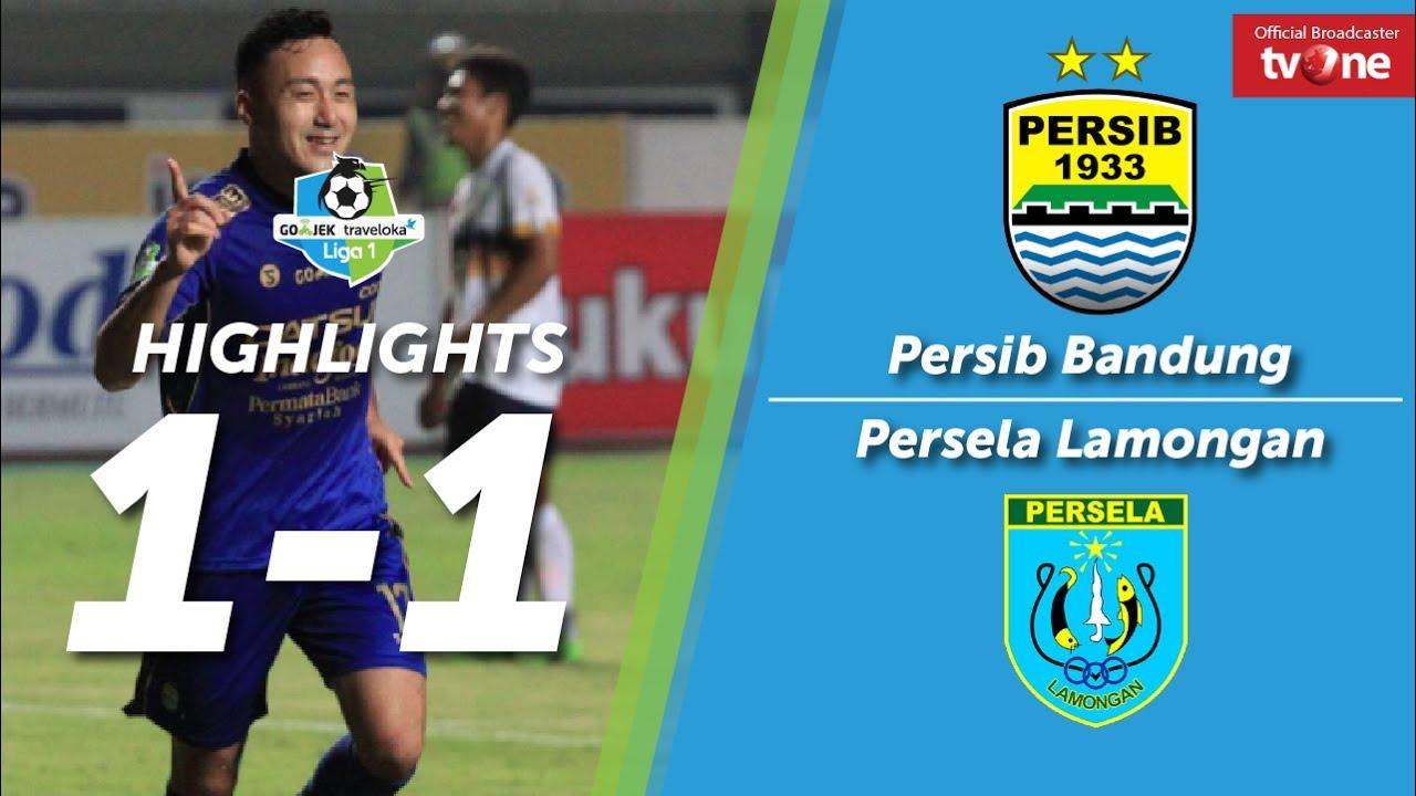 Persib Bandung Vs Persela Lamongan 1 1 All Goal