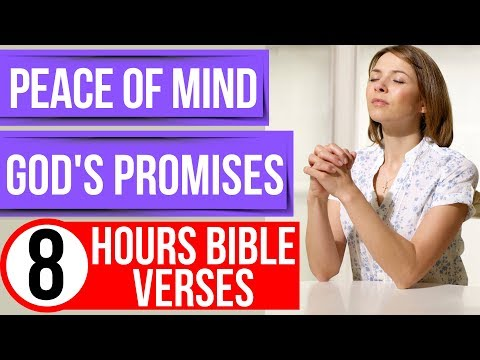 Peace Of Mind Promises Of God (Encouraging Bible Verses For Sleep)