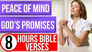 Peace of mind proṁises of God (Encouraging Bible verses for sleep)
