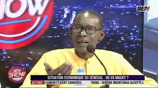 SEN SHOW du 24 Oct : Maïssa Babou (Economiste) et Khadim Bamba Diagne