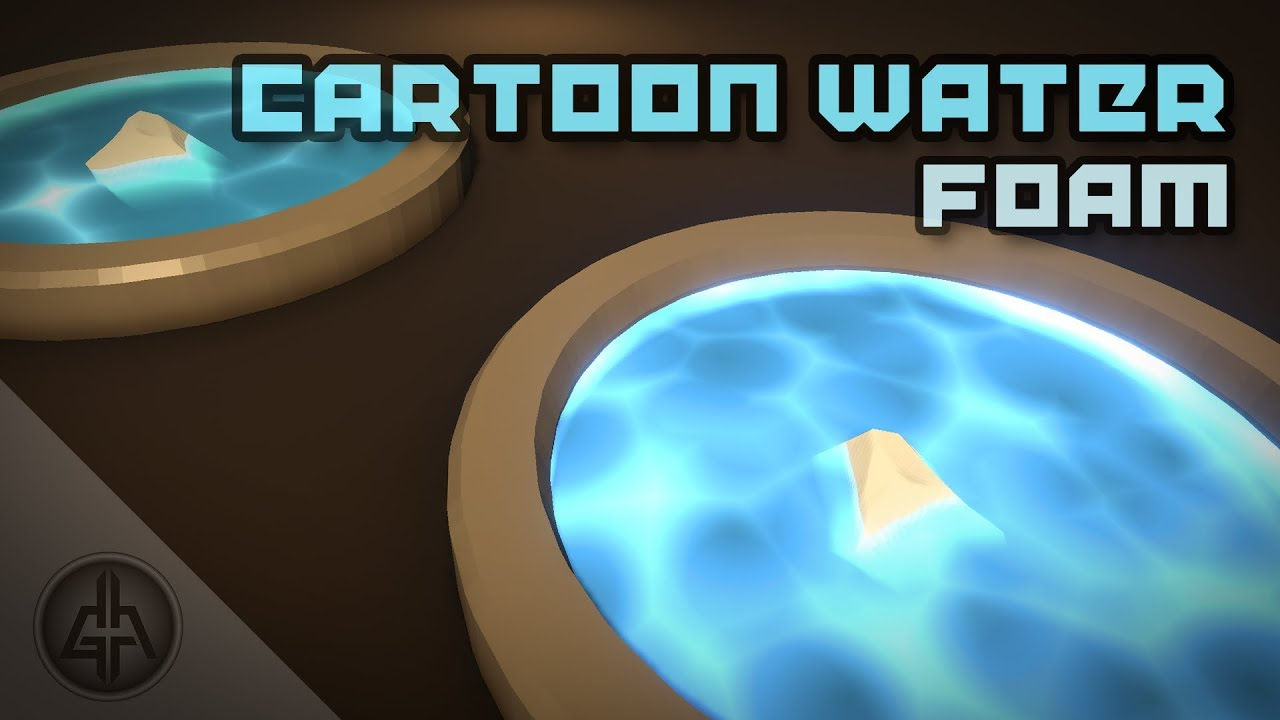 Unity Shader Graph - Cartoon Water & Foam Shader Tutorial