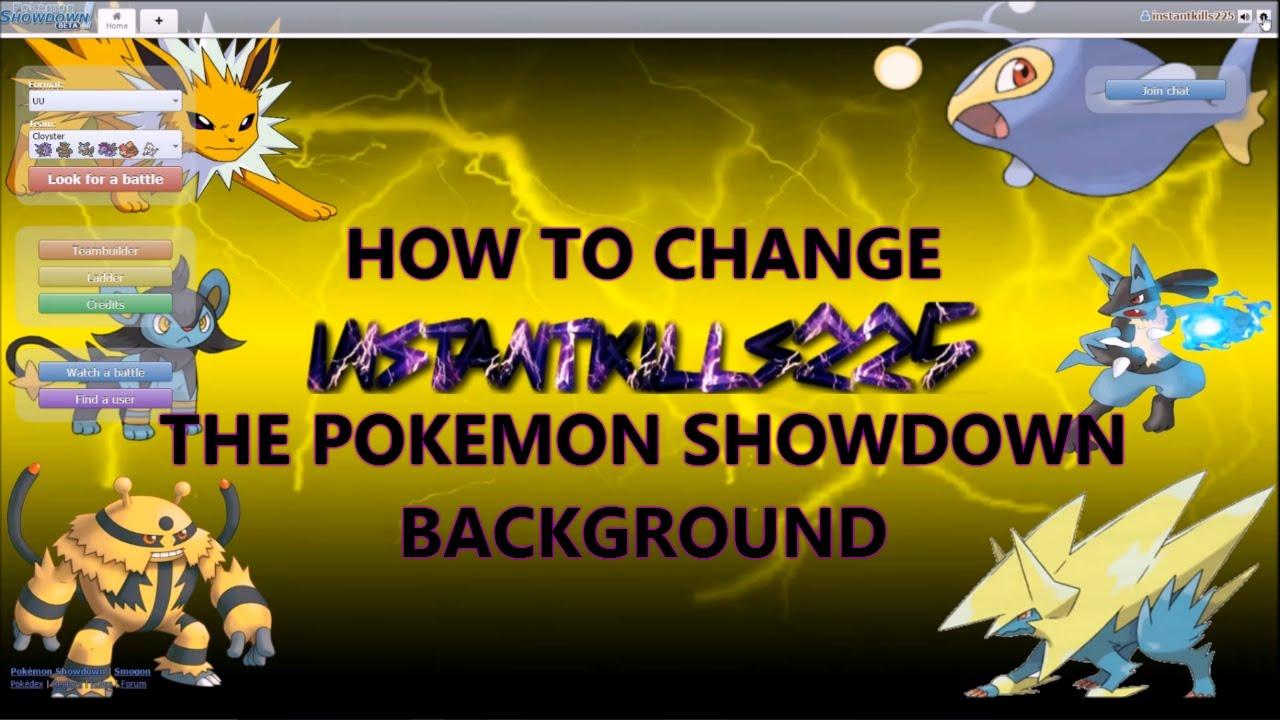 how to change pp on pokemon showdown