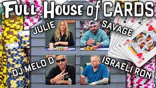 YOU COULDN'T EVEN SCRIPT THIS   Incredible Back-to-Back Poker Hands ♠ Live at the Bike!