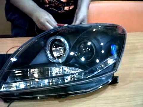 ไฟหน้า VIos 2007 ถึง 2012 Pro V.1 สวยยยยมว๊ากกกก
