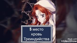 Топ 5 аниме где гг с красными волосами