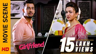 বিয়েটা হবে তো?   Movie Scene - Girlfriend   Bonny Koushani   Surinder Films