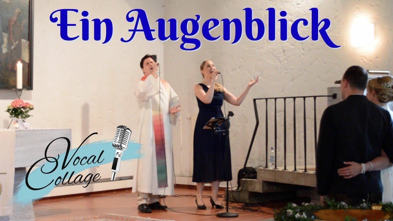 Ein Augenblick Duett Live Zur Hochzeit Duo Vocal Collage