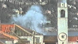 Война в Югославии Обстрел Дубровника
